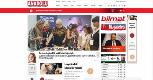 <p>02.10.2019 </p><p>www.anadolugazete.com.tr </p><p>BAŞKENT GÜZELLİK SEKTÖRÜNÜ AĞIRLADI</p>