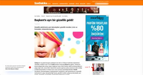 <p>01.10.2019<p>www.sondakika.com<p>BAŞKENT GÜZELLİK SEKTÖRÜNÜ AĞIRLADI