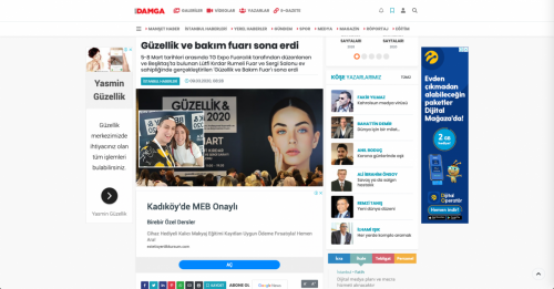 Gazete Damga - 09.03.2020