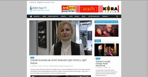 Kültür Sanat TV - 08.03.2020